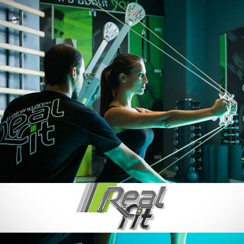 Realfit Online σύστημα κρατήσεων και app