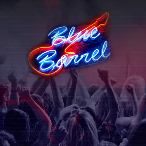 Blue Barrel - Live Stage